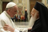 Pope Francis, Pope emeritus Benedict XVI honor Bartholomew I
