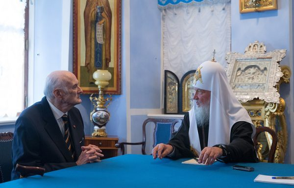 Patriarch Kirill informs the expertise of relics of Nicholas's II children Alexey and Maria will soon be completed