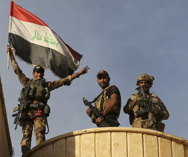 Christians in Iraq Celebrate After Church Liberated From ISIS
