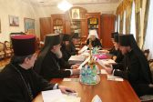 Orthodox Church of Moldova Synod meets for a regular session