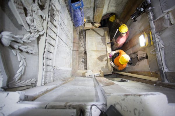 Jesus Christ's burial tomb sees light of day for the first time in 500 years