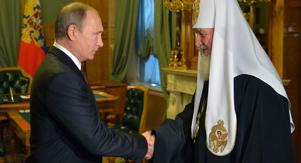 Putin Congratulates Patriarch Kirill on His 70th Birthday