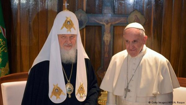 Patriarch Kirill receives piece of Francis of Assisi relics as birthday gift from Pope