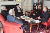 Metropolitan Tikhon discusses persecution of Christians with Billy Graham Association representative