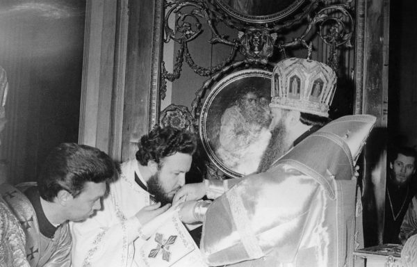 Consecration of Archimandrite Kirill as Bishop of Vyborg. March 14, 1976.