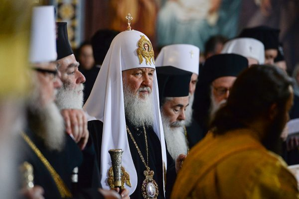 "Patriarch Kirill is sure Russian-Ukrainian relations can be restored ""very quickly"" in foreseeable future"