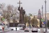 Monument to St Vladimir Duke unveiled in Moscow
