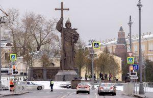 Monument to St Vladimir Duke unveiled…