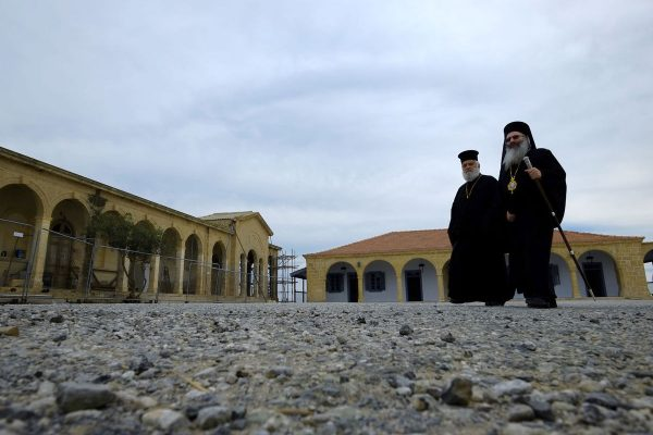 Restoration of revered Cyprus monastery 'symbol of unity'