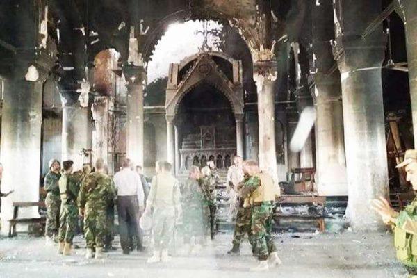 Christian Mass returns to the towns of Iraq's Nineveh Plain