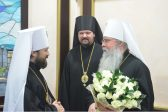 Primate of the Orthodox Church in America arrives in Moscow