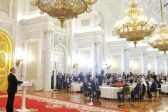Patriarch Kirill attends state reception in Kremlin on the Day of Unity of the People