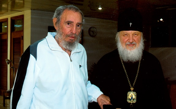 Patriarch Kirill calls Fidel Castro a sincere friend of the Russian Church