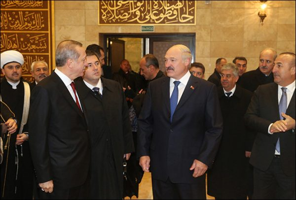 Lukashenko, Erdogan open Cathedral Mosque in Minsk