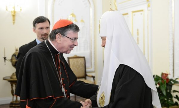 Patriarch Kirill ready to work with Vatican on peace in Syria