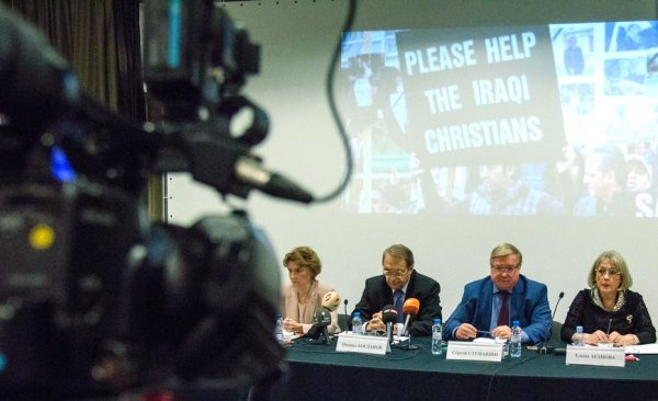 Round Table on the situation of Christians in the Middle East takes place in Moscow