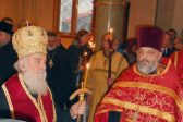 His Holiness Patriarch Irinej of Serbia celebrates requiem service for those killed in plane crash over the Black Sea