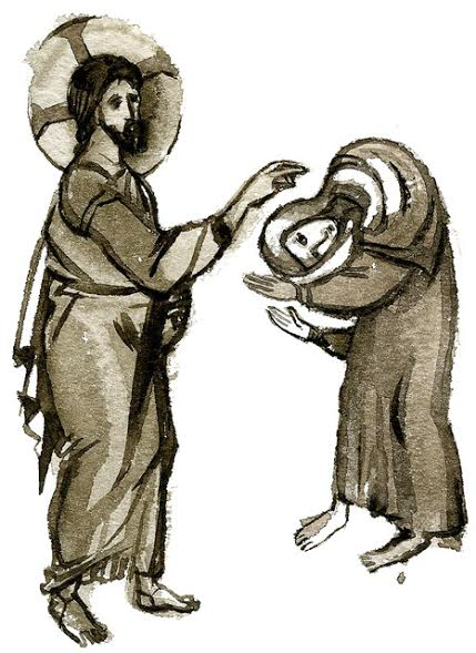 On the Healing of the Bent Over Woman that Took Place on Sabbath