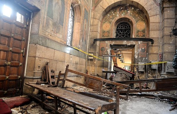 Islamic State claims responsibility for deadly Cairo church blast