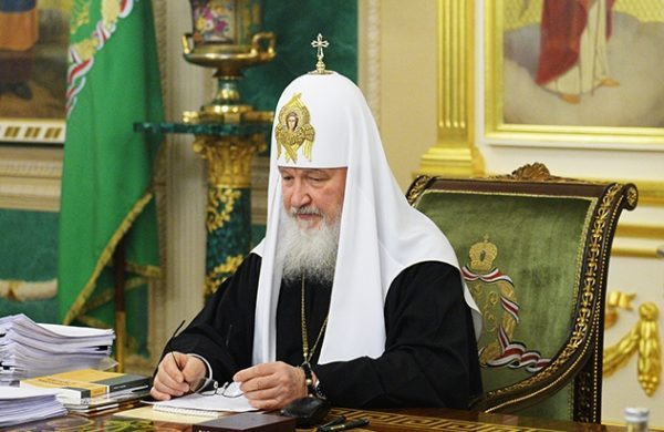 Changes that took place in 2016 withdrew a threat menacing the world – Patriarch Kirill