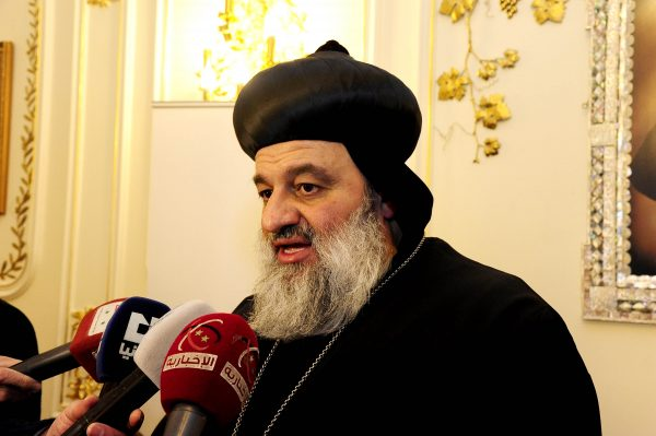Patriarch Aphrem II condemns the terrorist attack near St. Mark Cathedral in Cairo