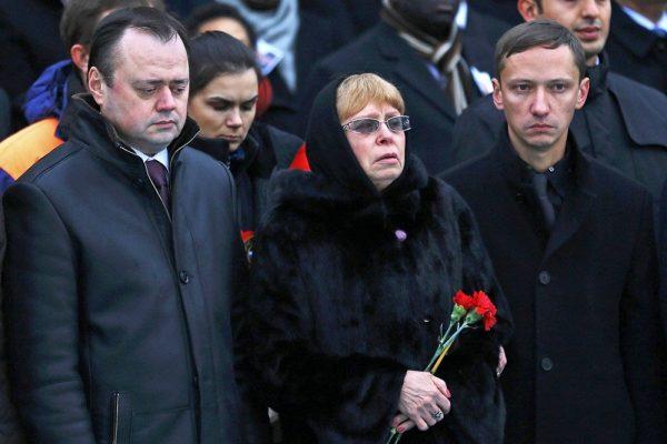 The diplomat's widow, Marina Karlova