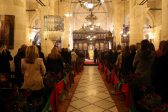 Orthodox Christians pray for victims of terror in Turkey on Christmas eve