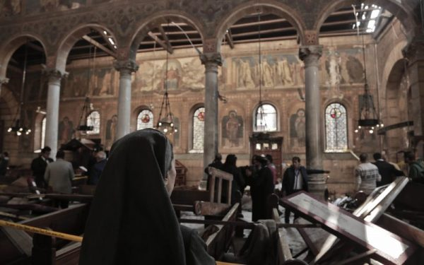 Egypt's president says church attack was a suicide bombing