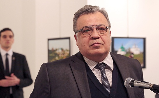 On the day of Ambassador Karlov's burial bells will ring at the Russian church in Pyongyang