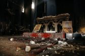 Iraqi Christians driven out by ISIS return to worship in desecrated Church