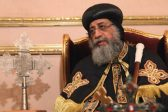 Egypt's endowments minister, army leaders visit Coptic Pope Tawadros for Christmas