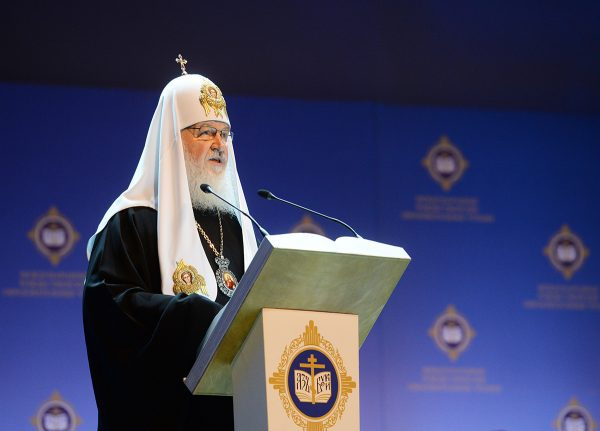 His Holiness Patriarch Kirill says the October Revolution was caused by the spiritual degradation of the people