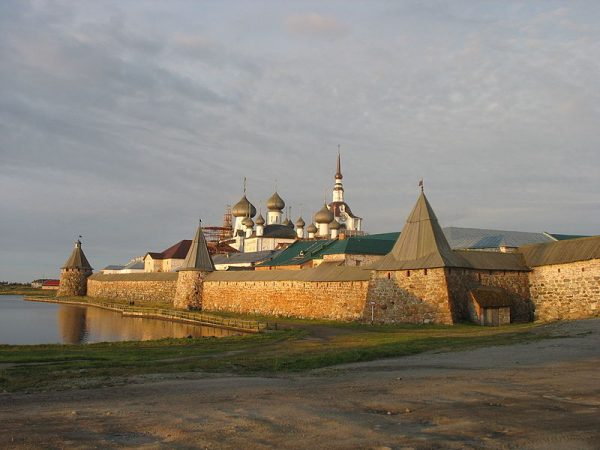 The monastery in August 2009.