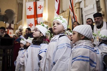 Georgia celebrates Orthodox Christmas