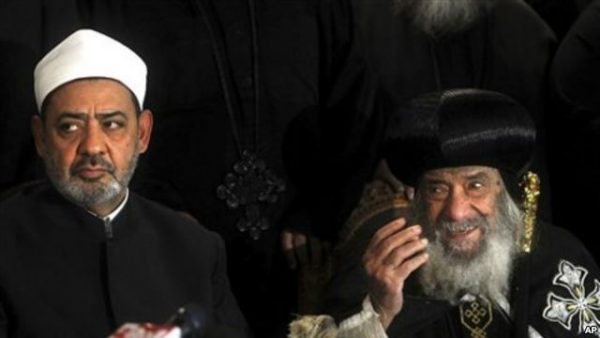 Egypt: Muslim leader visits Coptic cathedral