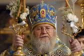 Metropolitan Hilarion of Eastern America and New York Sends Nativity Greetings to His Beatitude Metropolitan Onouphry of Kiev and All Ukraine