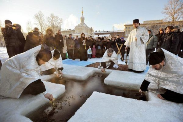 Over 1.8 mln people took part in Epiphany bathing in Russia