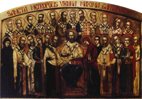 Orthodox saints in the western whose spiritual life was grounded in the Liturgy of St. Gregory of Rome.