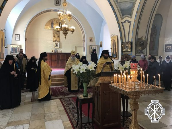 Molieben of thanksgiving marks the 170th anniversary of the Russian Ecclesiastical Mission in Jerusalem
