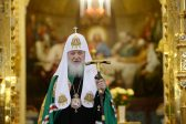 Reception marking 8th anniversary of enthronement of his holiness Patriarch Kirill takes place at the Cathedral Of Christ the Saviour