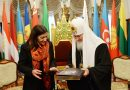 His Holiness Patriarch Kirill meets with Mayor of Paris Anne Hidalgo