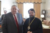 Metropolitan Hilarion meets with US Ambassador to Russia
