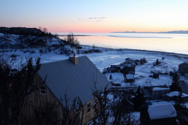 Neighborhood of Ninilcik village, Alaska. Photo: Sputnik/ Tatyana Lukyanova