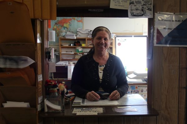 The postmistress Kira in Nikolaevsk, Alaska. Photo: Sputnik/ Tatyana Lukyanova