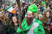 Moscow goes green after St. Patrick finally recognized by Russian Orthodox Church