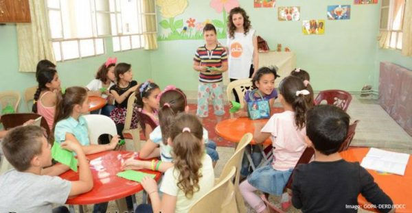 IOCC intensifies outreach to Syria's suffering children, adolescents