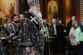 On the 100th anniversary of the emperor's abdication the patriarch prays for victims of the revolution and civil war