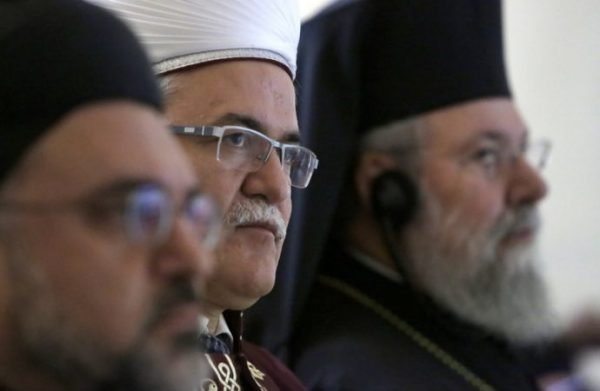 Cyprus's religious leaders unite against violence to women