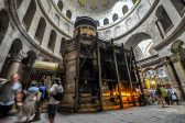 Restoration of Christ's tomb in Holy Sepulchre basilica nears completion