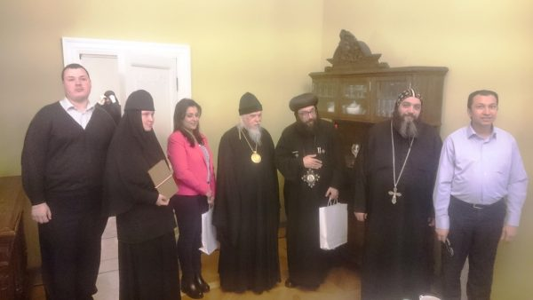 Delegation of heads of social services of the Coptic Church visits Moscow